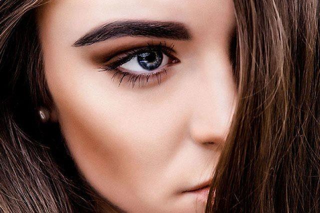 Форма бровей по типу лица как сделать