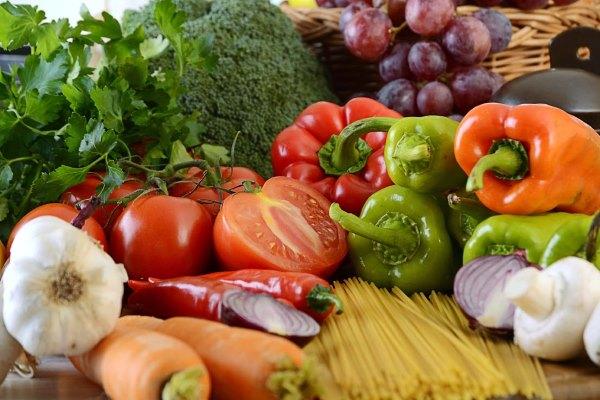 Растительная пища.