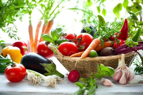 Разные овощи.