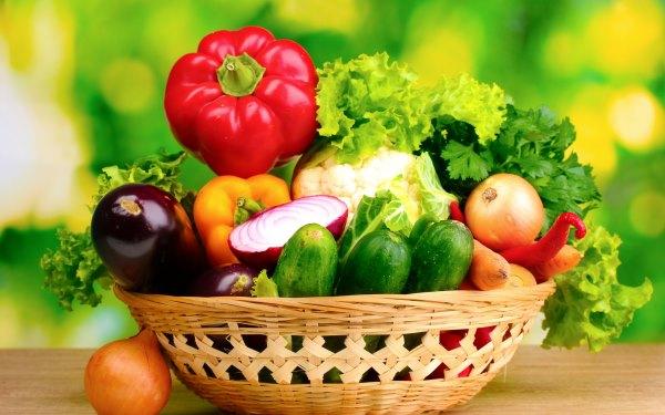 Сырые овощи