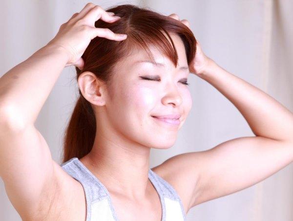 Массаж головы для роста волос в домашних условиях видео