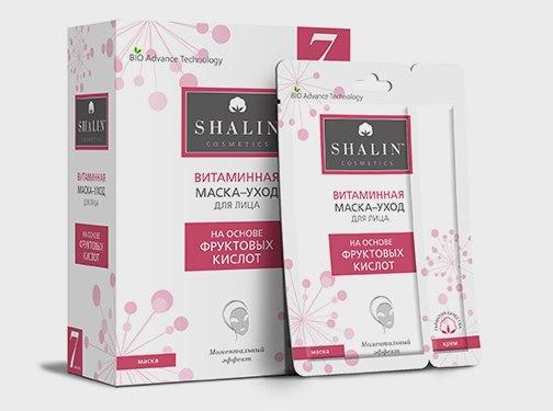 Витаминная маска-уход Shelin