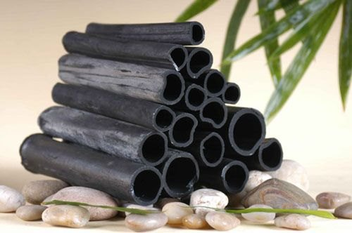 Уголь бамбука