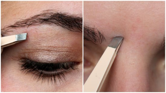 Как нарисовать симметричные брови