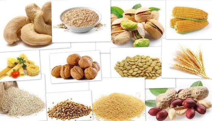 Продукты, в которых содержится витамин В1