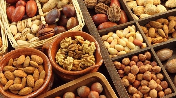 Орехи – высококалорийный продукт с низким ГИ