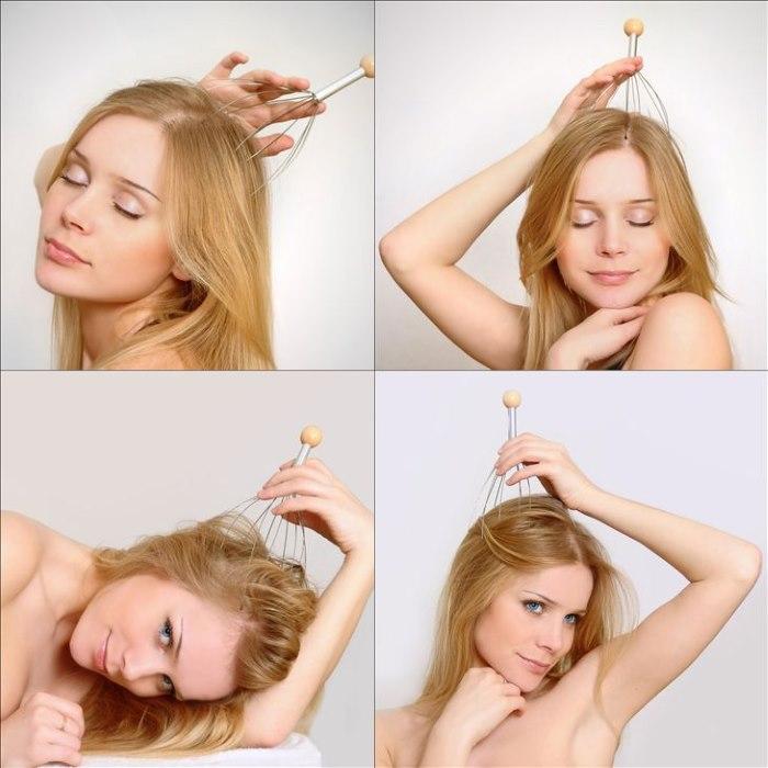 Мурашка - специальная массажер для кожи головы