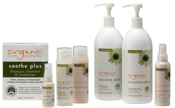 Серия средств по уходу за кожей головы и волосами «Soothe Plus».