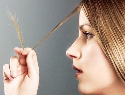 Посеченные волосы