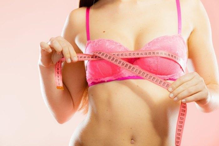 Объем женской груди