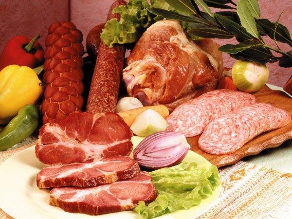 Мясные продукты.