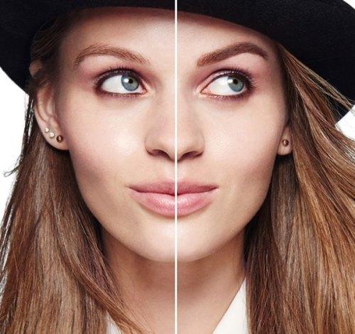 До и после окрашивания хной