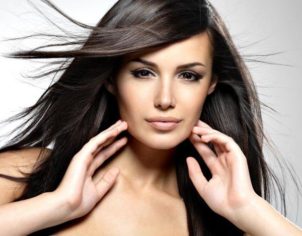 Красивые волосы и брови