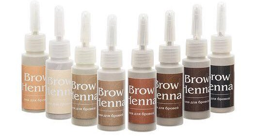 Жидкая хна Brow Henna