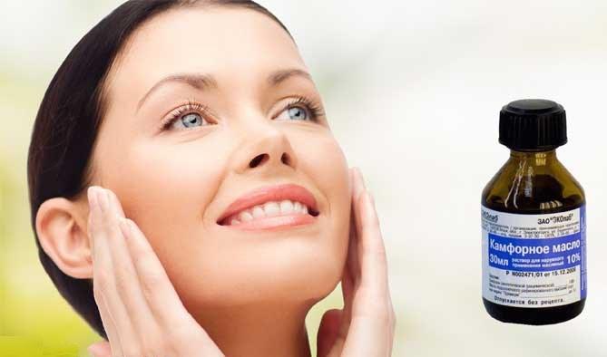Избавление от морщин на лице камфорным маслом. Отзывы и результаты