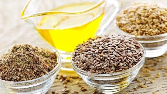 Льняная мука, семена льна и льняное масло
