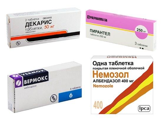 медикаменты против паразитов