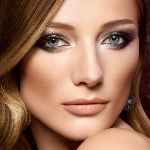 Макияж для зеленых глаз и каштановых волос
