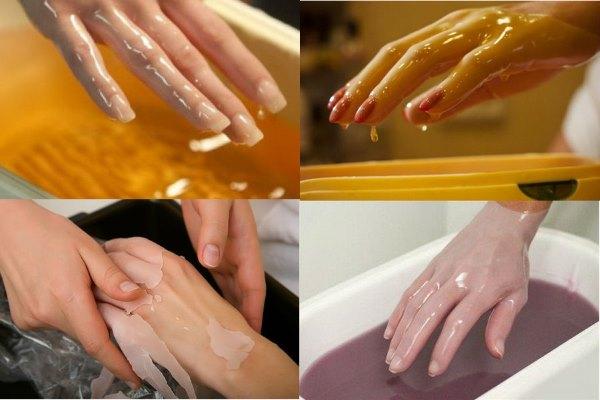 Парафиновая ванночка для рук.