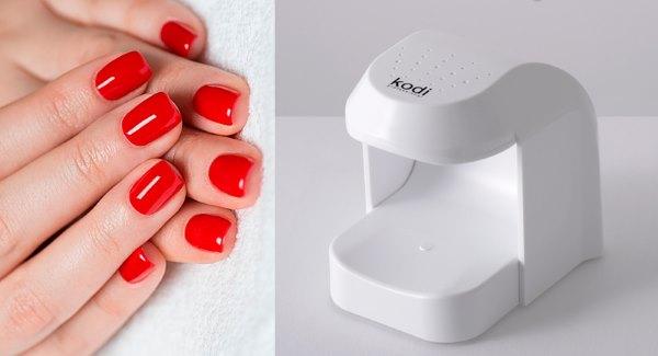 Лампа для ногтей для одного пальца.