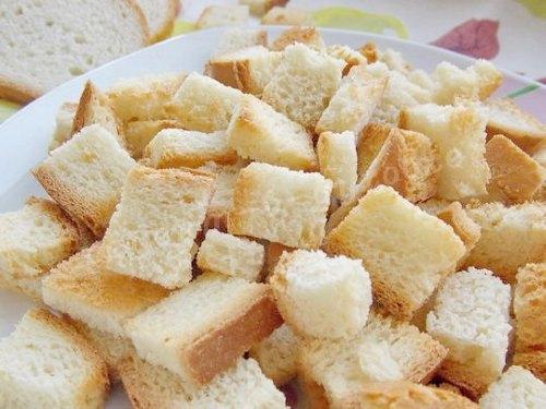 Сухари из белого сорта пшеницы