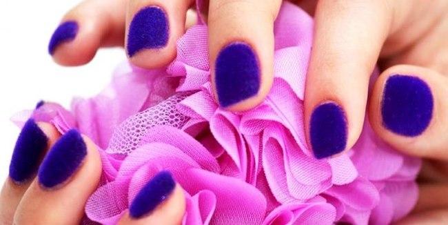 Стильный дизайн ногтей песком: пошаговая инструкция Бархатного маникюра