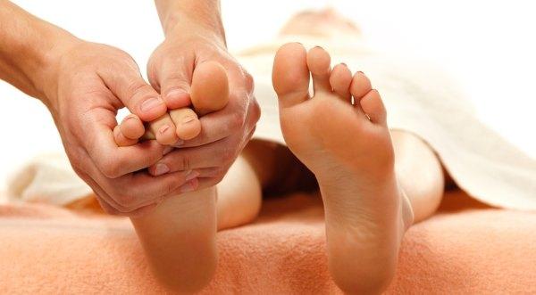 Сжатие пальцев ног
