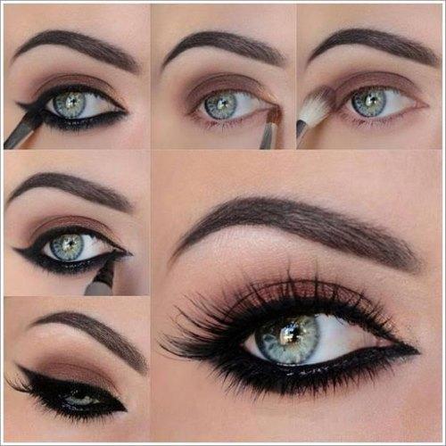 Пошаговая инструкция для макияжа глаз