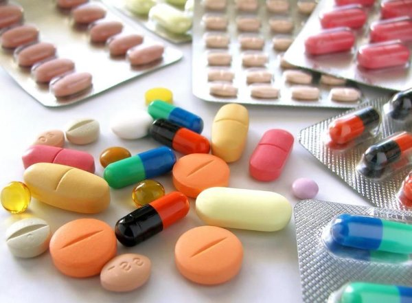 Разные таблетки.