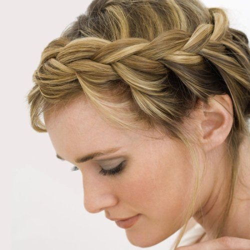 Греческая прическа на средние волосы. Как сделать пошагово с фото