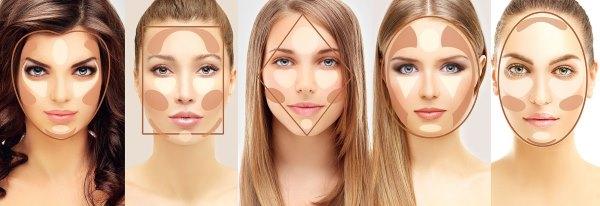 Особенности макияжа в соответствии с формой лица