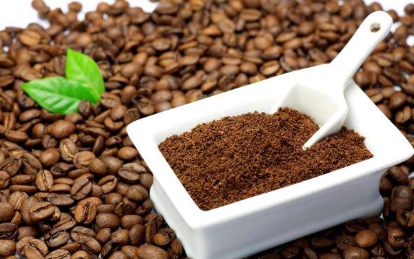 Кофейные зерна.