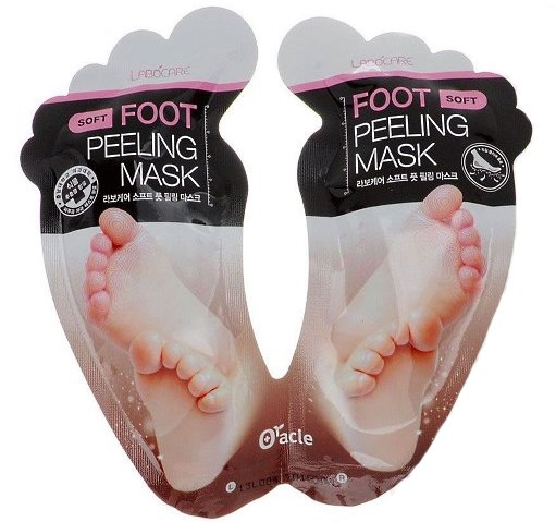 Маски-носочки для ног.