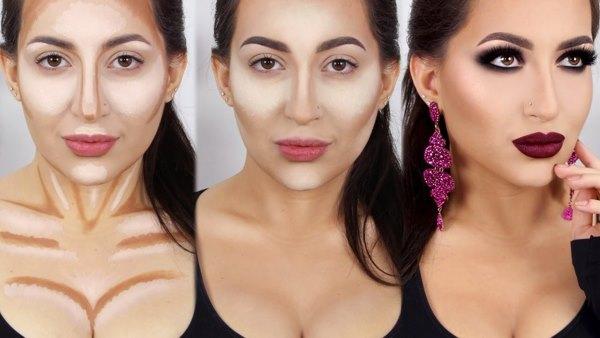 Видео уроки макияжа для лица и глаз - наносите