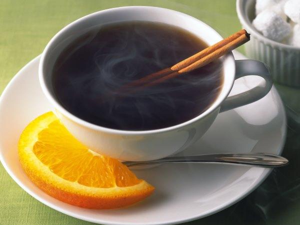 Крепкий чай.