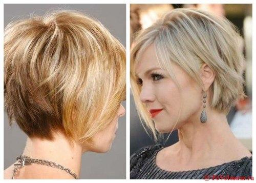 Стрижки на короткие волосы для объема фото