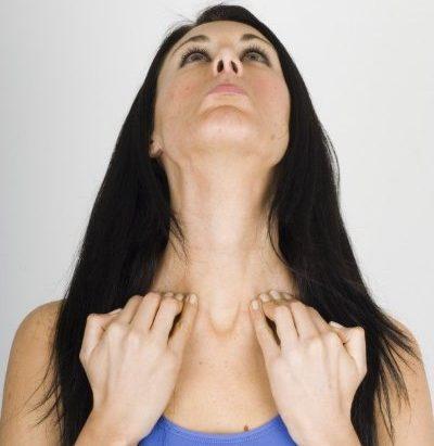Упражнение для подтяжки кожи шеи