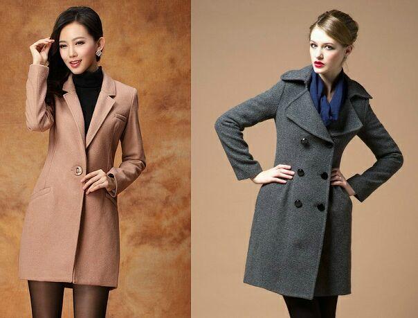 приталенное пальто