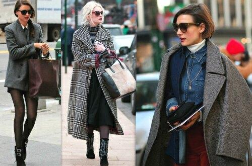 сумка и пальто