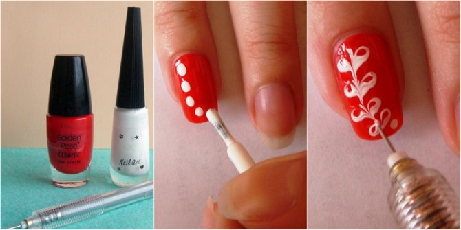Как научиться делать рисунки на ногтях
