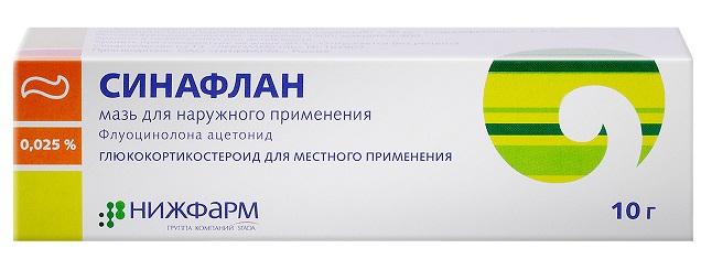 синафлан от аллергии на коже
