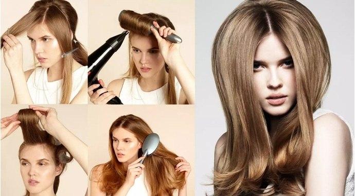 Прически для тонких коротких волос своими руками