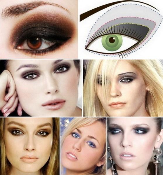 Как накрасить глаза: «Смоки Айс». Пошаговое руководство дымчатого макияжа