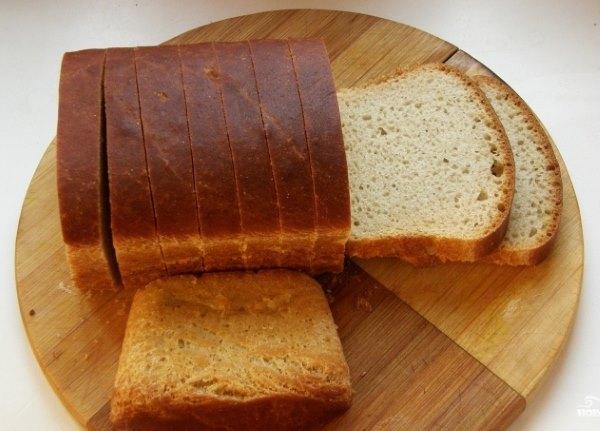 Белый хлеб.