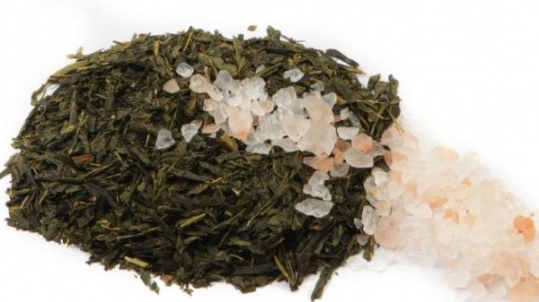 Морская соль и зеленый чай