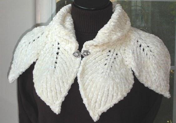 Как связать шарф спицами для женщины. Новые модели и пошаговая инструкция