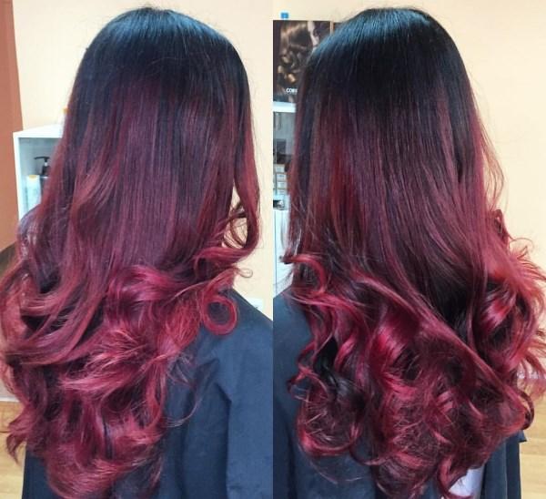 Балаяж на темные волосы. Фото стильных вариантов окрашивания «балаяж»