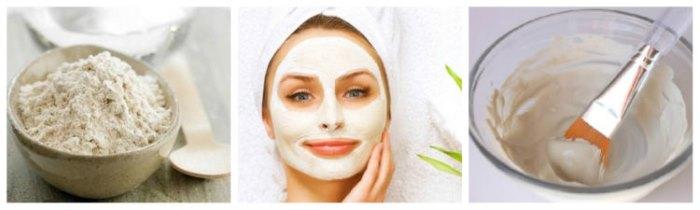 Белая глина косметическая (каолин). Свойства, применение для лица, волос. Цена, отзывы