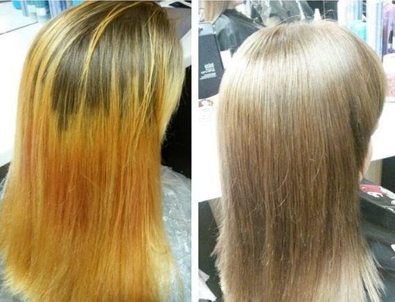 Декапирование волос - что это такое, как делать, фото до и после, отзывы