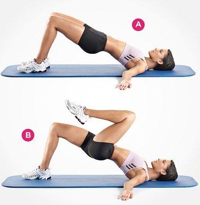 Какие упражнения делать, чтобы накачать попу. Качаем ягодичные мышцы